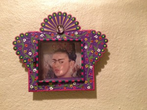 Frida Kahlo Art Piece Large