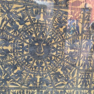 Traditional Shamanic Papel Picado: Museo del Arte Popular, Coyoacan, Mexico
