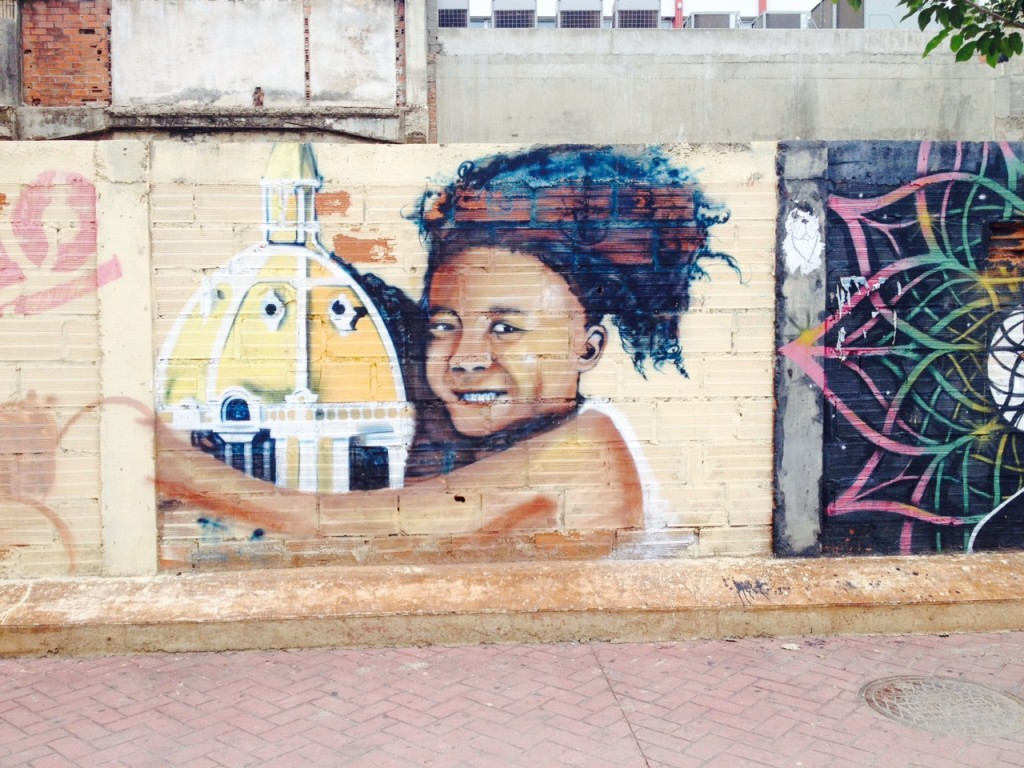 Street Art in Centro Cartagena