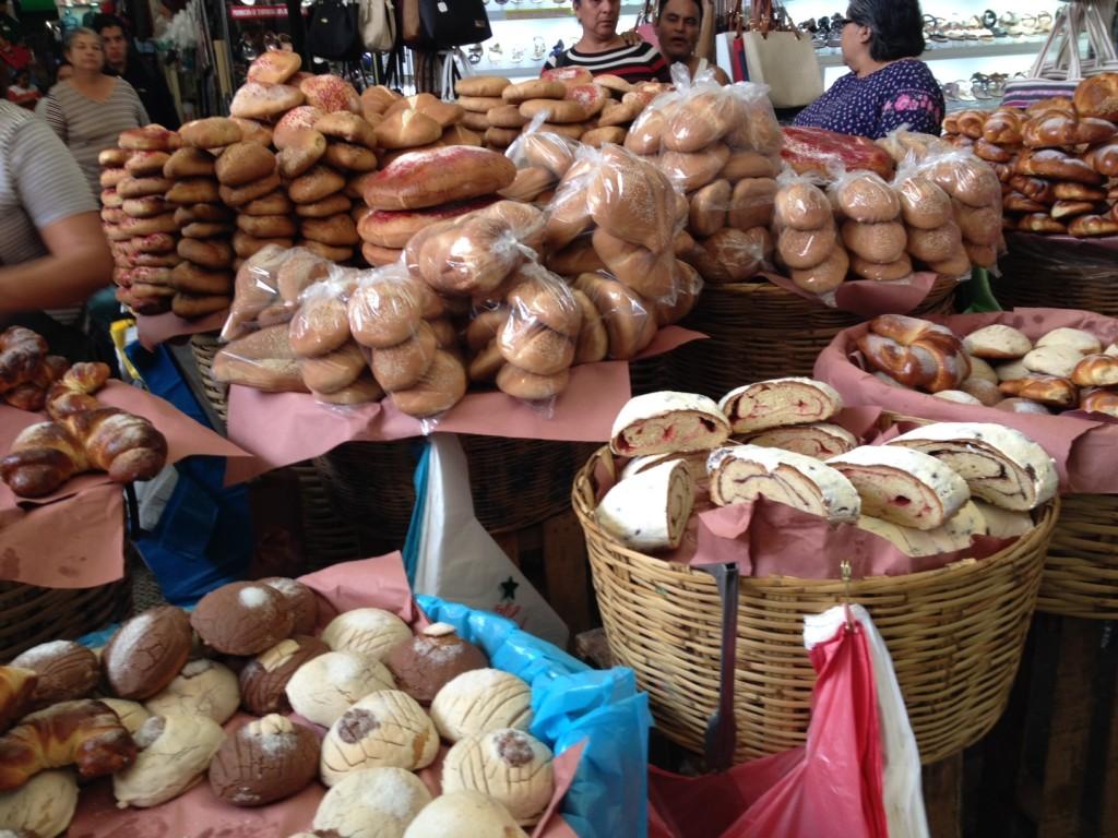 Bread in Oaxaca Market